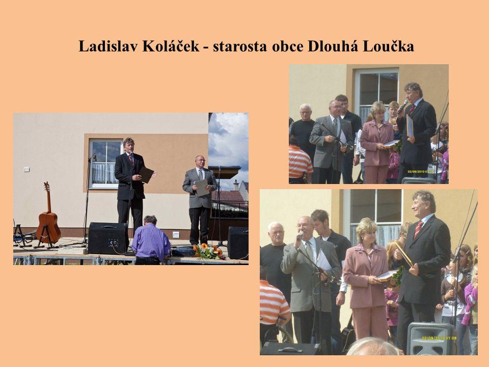 Ladislav Koláček - starosta obce Dlouhá Loučka