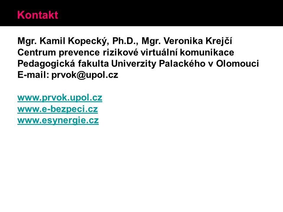 Kontakt Mgr. Kamil Kopecký, Ph.D., Mgr.