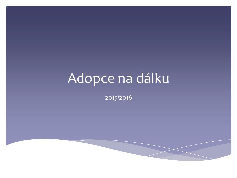 Adopce na dálku 2015/2016