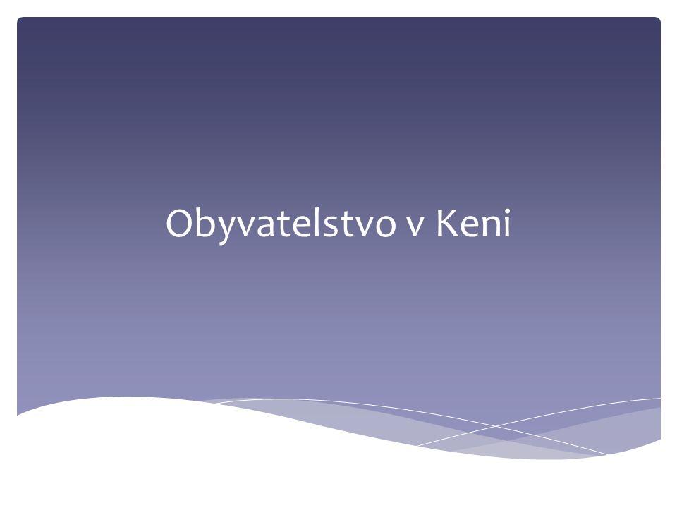 Obyvatelstvo v Keni