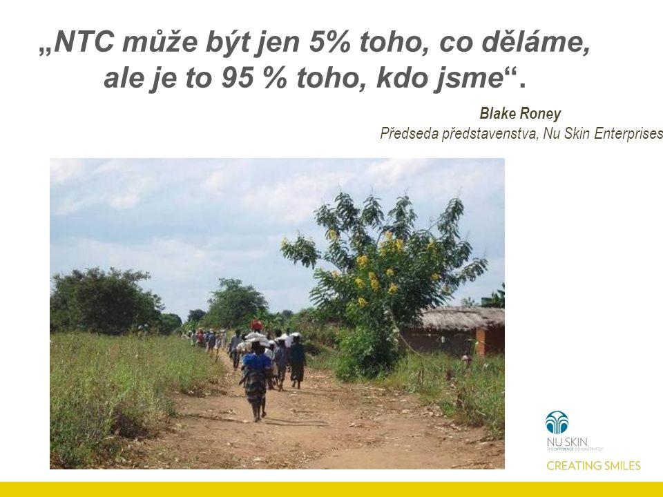"""""""NTC může být jen 5% toho, co děláme, ale je to 95 % toho, kdo jsme ."""
