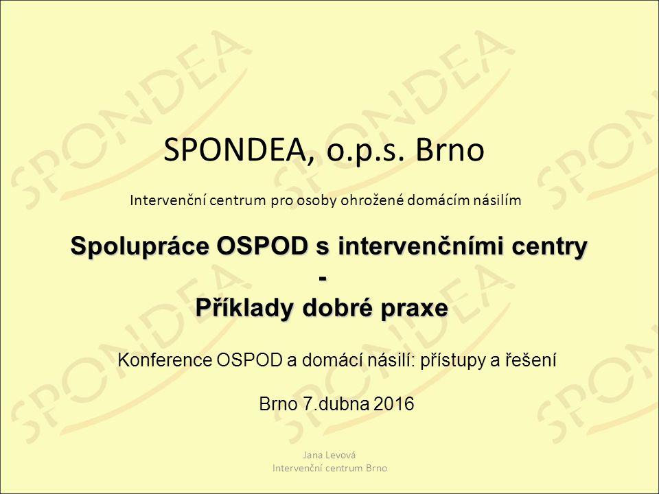 SPONDEA, o.p.s.