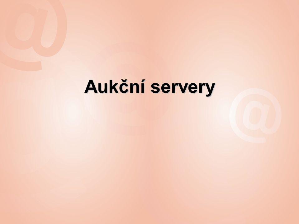 Aukční servery