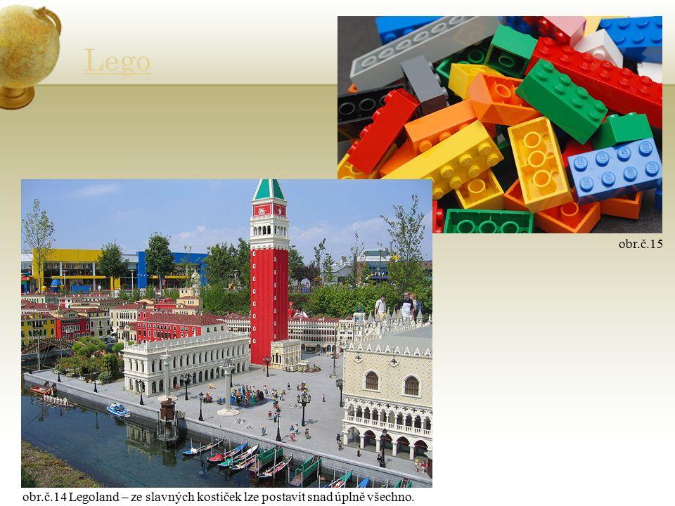 Lego obr.č.14 Legoland – ze slavných kostiček lze postavit snad úplně všechno. obr.č.15