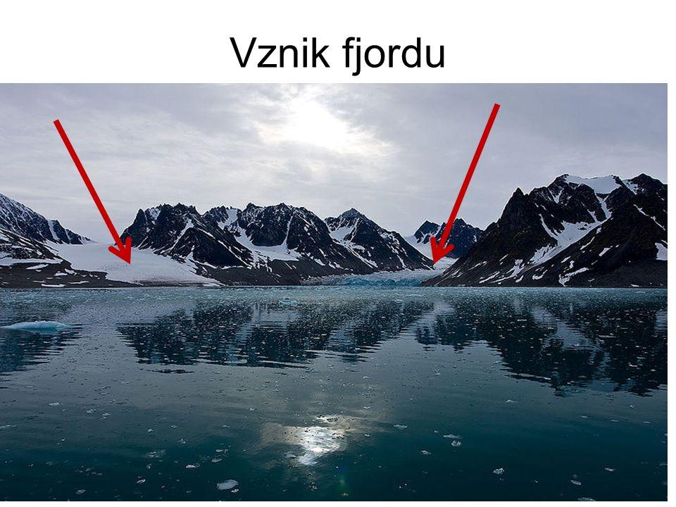 Vznik fjordu