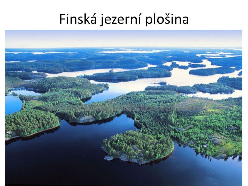 Vysoká životní úroveň Mnoho lesů – těžba dřeva – nejvíce Finsko Tundra v horách a za polárním kruhem Zdroje nerostných surovin – ropa, železná ruda Řeky jsou využívány k výrobě elektrické energie Málo narušené přírodní prostředí
