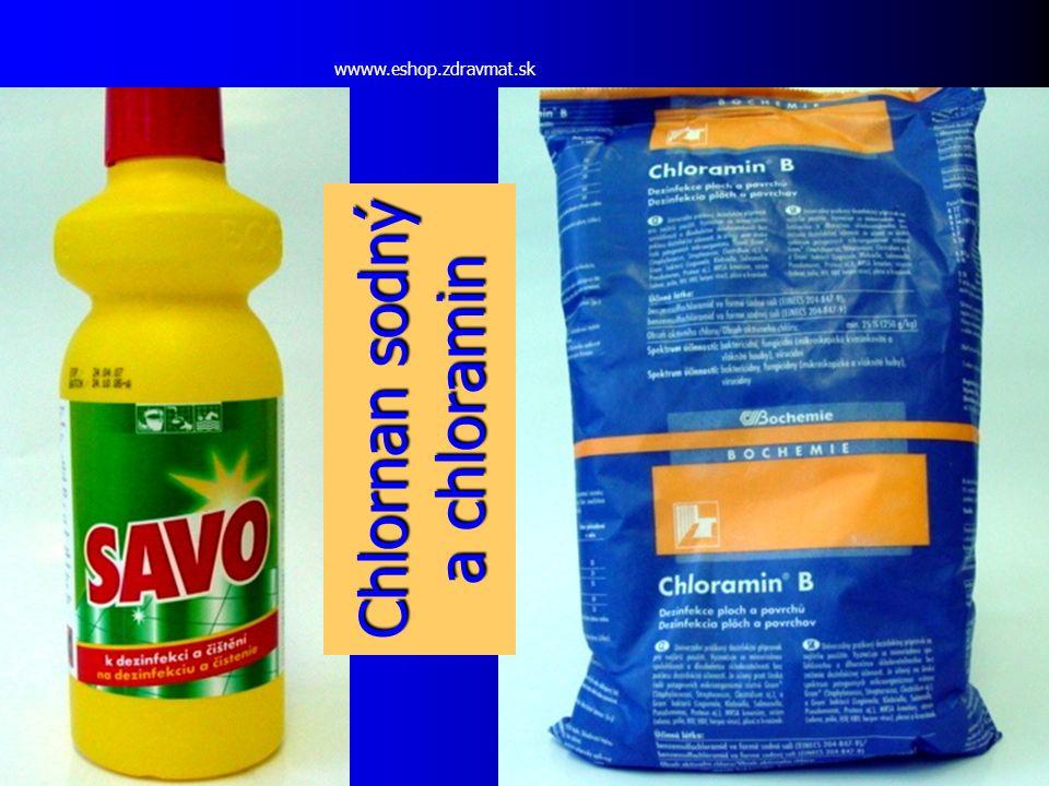 Chlornan sodný a chloramin wwww.eshop.zdravmat.sk