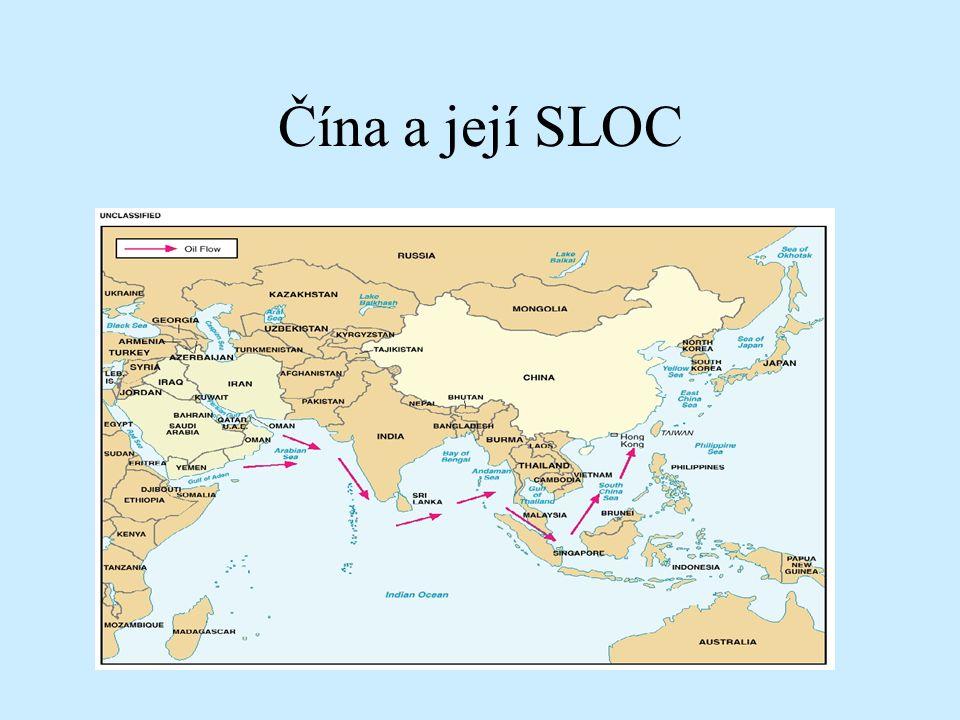 Čína a její SLOC