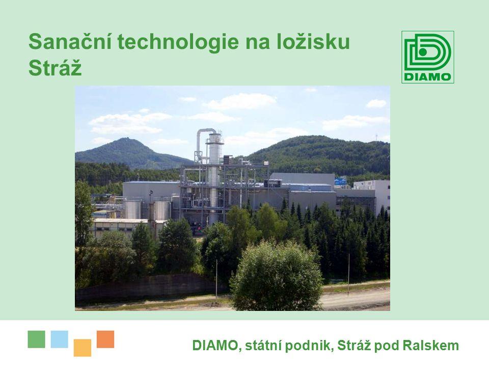 Sanační technologie na ložisku Stráž DIAMO, státní podnik, Stráž pod Ralskem