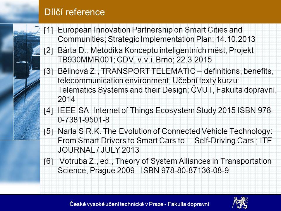 Závěr – informatické prostředí SC / R 1.