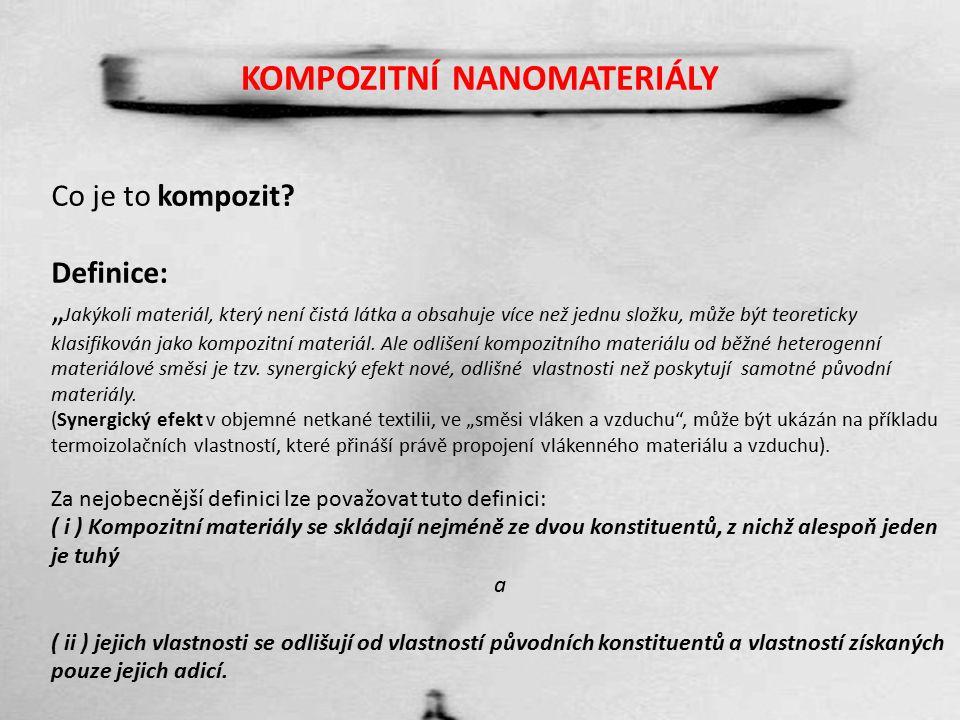 NANOKOMPOZITNÍ MATERIÁLY První pokus Kompozitní materiál.wmvKompozitní materiál.wmv
