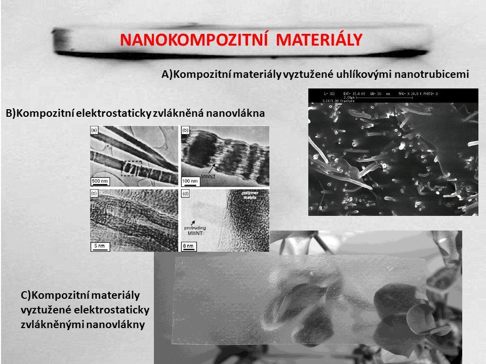 NANOKOMPOZITNÍ MATERIÁLY Materiál homogenizovaný pomocí ultrazvuku Jako škodlivina použit yperit – Státní ústav jaderné, chemické a biologické ochrany (SÚJCHBO) Rezistence cca 23 h