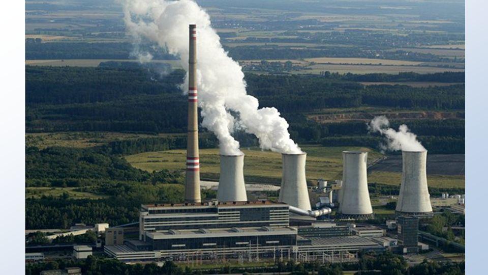 Plynové elektrárny VÝHODY plyn je považovaný za čistý zdroj energie světová zásoba plynu je zatím velká plynové elektrárny jsou menší a levnější a je