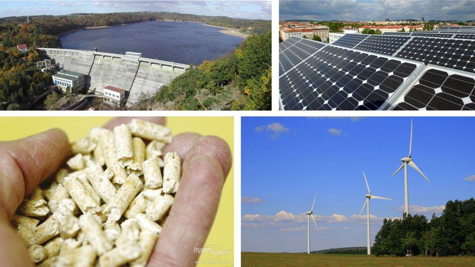 Větrné elektrárny VÝHODY obnovitelný a čistý zdroj energie bez produkce skleníkových plynů necentrální (rozptýlený) zdroj energie relativně nenáročný