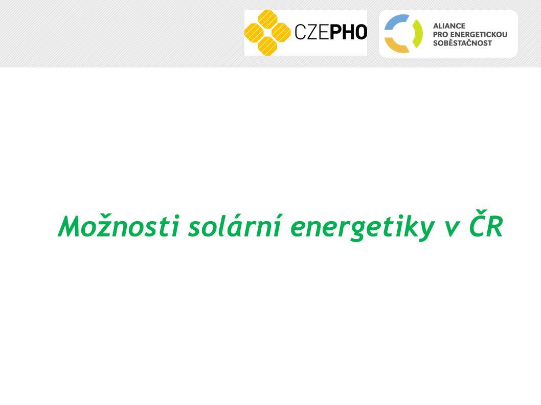 Možnosti solární energetiky v ČR