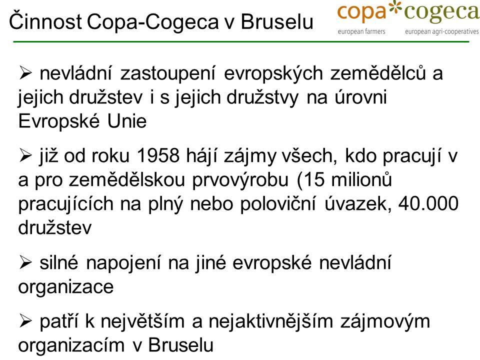 Trade Social partners Animal welfare ConsumersAgriculture Food chain Environment Copa-Cogeca