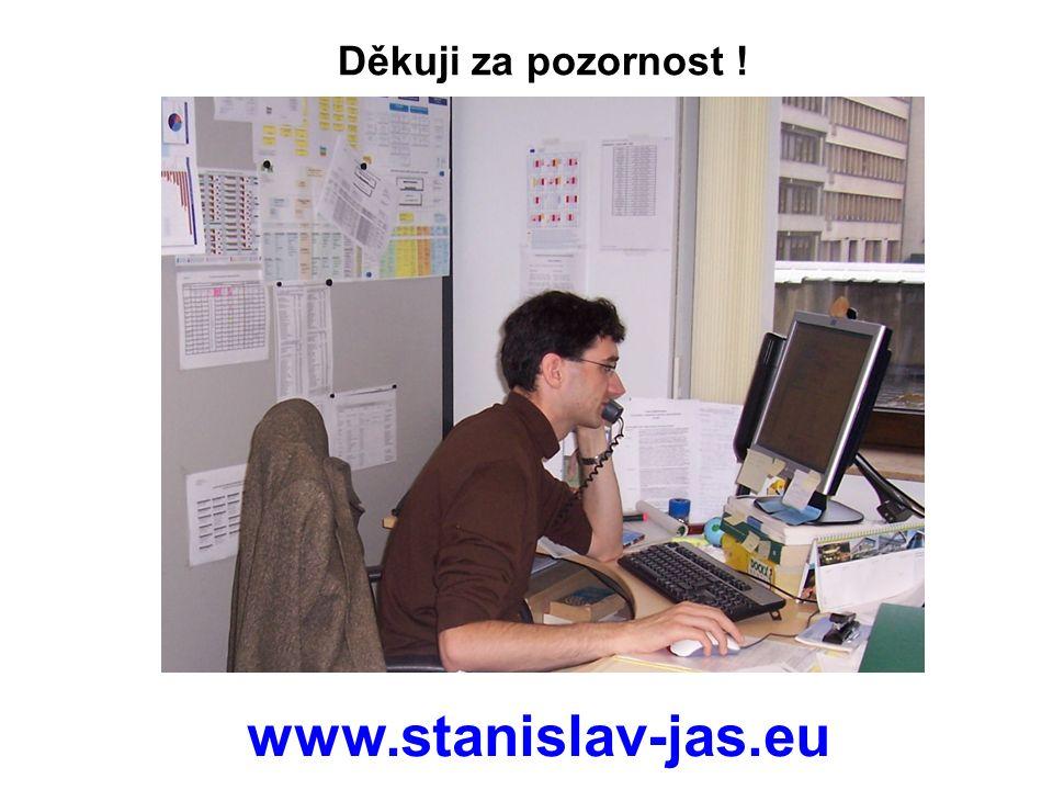 Děkuji za pozornost ! www.stanislav-jas.eu