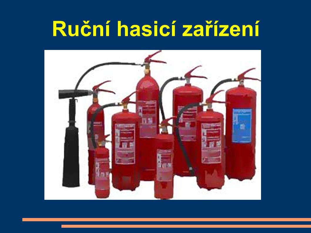 Ruční hasicí zařízení