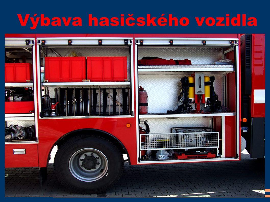 Výbava hasičského vozidla