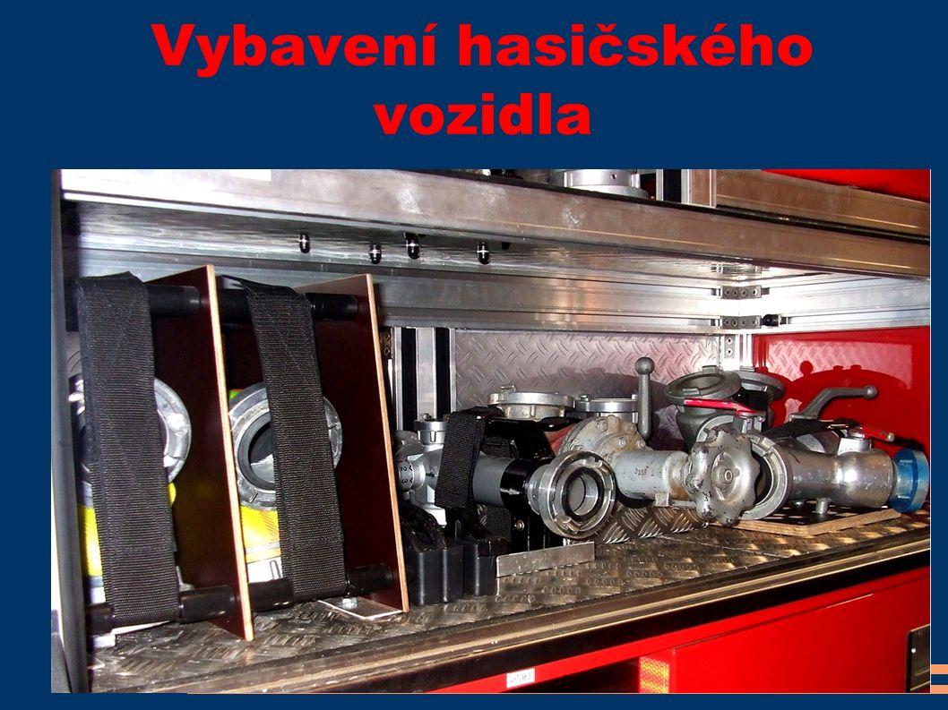Vybavení hasičského vozidla