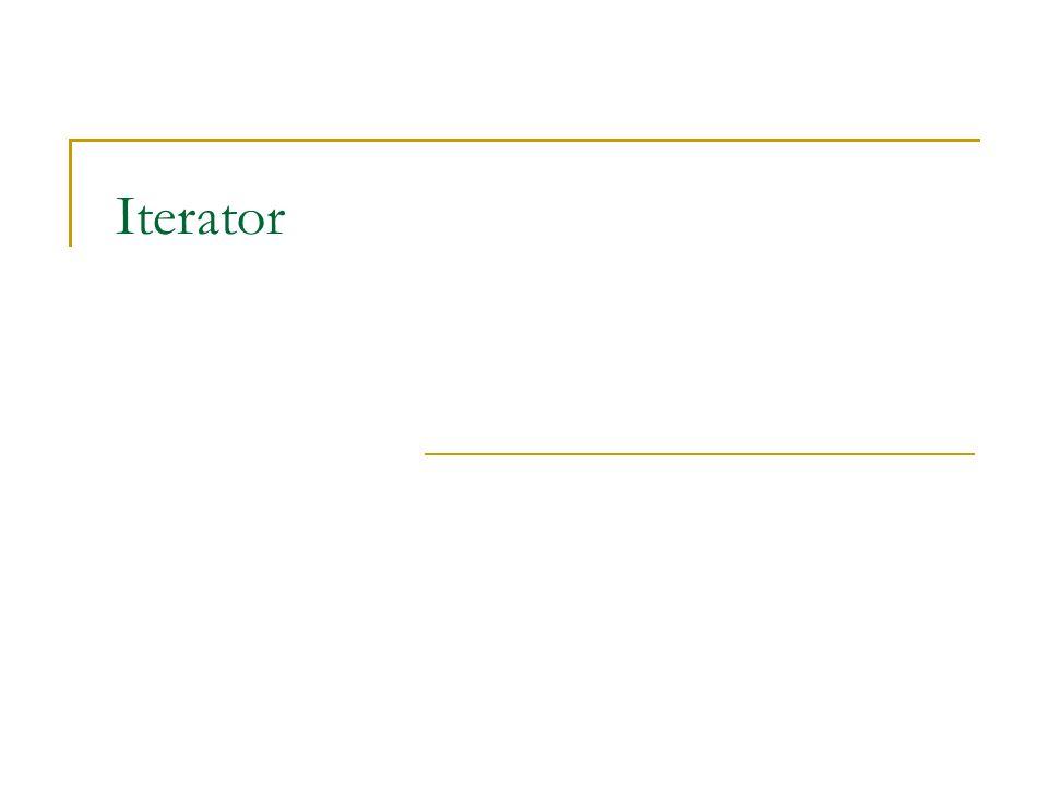 Iterator – Otázky Jaké je chování při modifikacích kolekce během iterování.