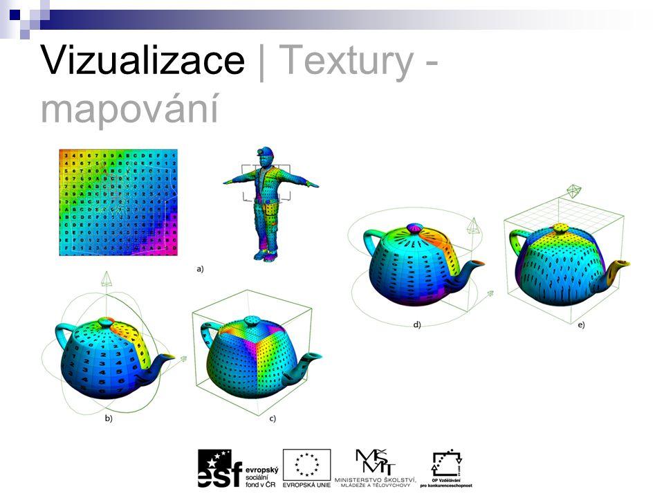 Vizualizace | Textury - mapování