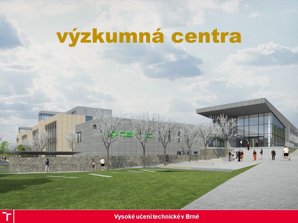Vysoké učení technické v Brně výzkumná centra