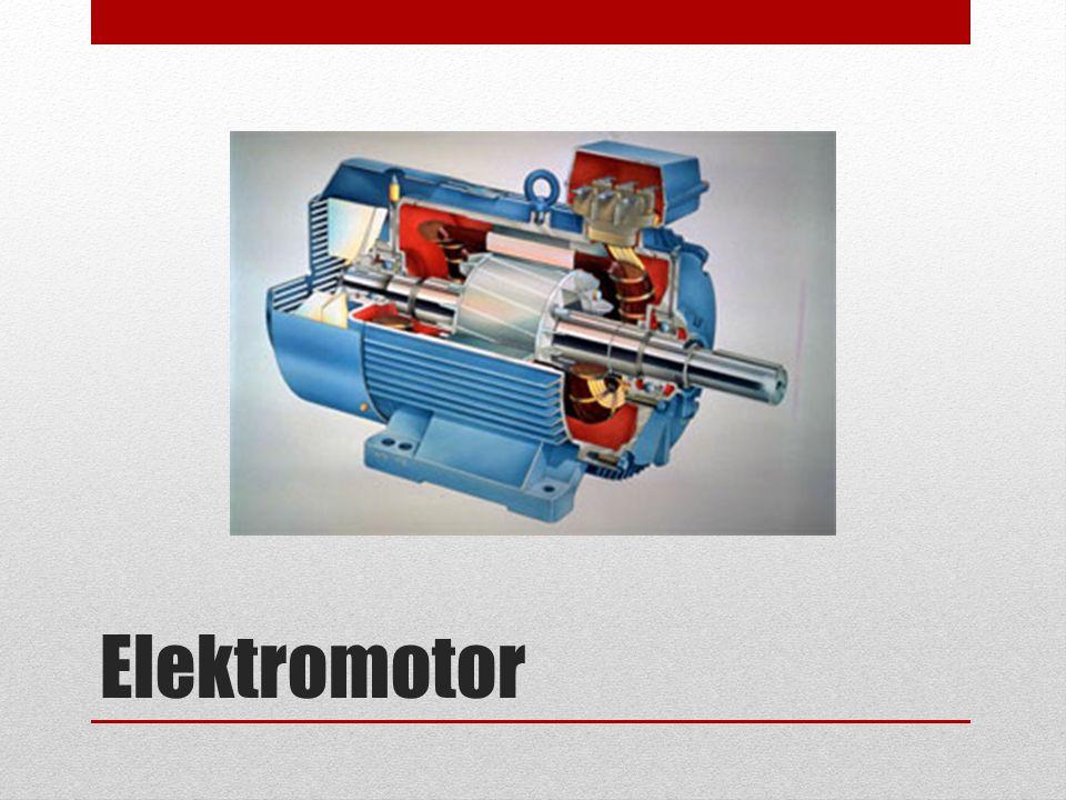 Elektromotor je elektrický stroj, který slouží k přeměně elektrické energie na mechanickou práci.