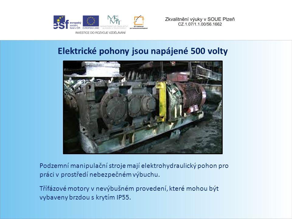 Přeprava materiálu i lidí po dráze je efektivnější a údržba i budování jsou jednodušší Pohon tohoto stroje zajišťuje dieslový agregát Důlní lokomotivy