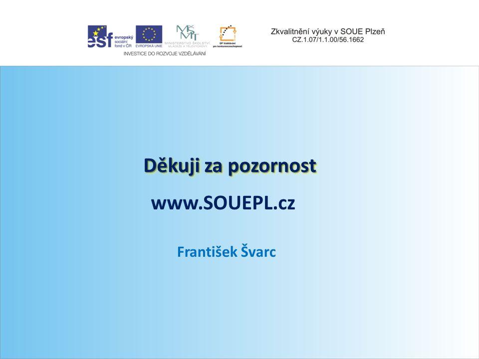 Seznam použitých zdrojů Internet: http://www.zam-servis.cz/KATALOG_DULNI/CZ/ZITG- 2,TIG_CZ_V131231.pdf http://www.odbornecasopisy.cz http://www.spskar