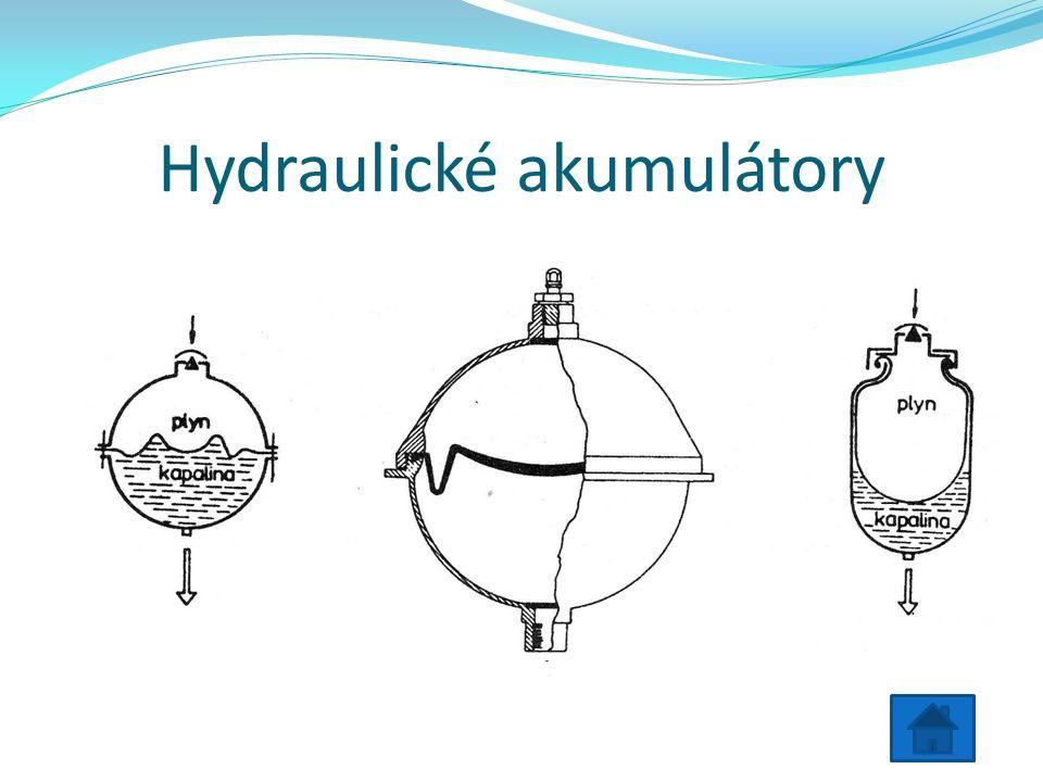 Hydraulické akumulátory