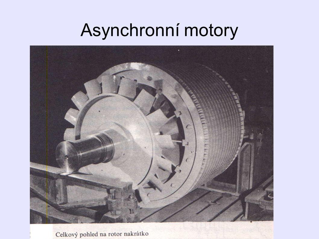 Motor nakrátko: - nejrozšířenější, jednoduchá údržba - funkčně i konstrukčně jednoduchý - laciný, provozně spolehlivý - bezpečný, pohodlně se spouští - má velkou přetížitelnost - otáčky jsou vesměs stálé - nevyžaduje odbornou obsluhu, atd.