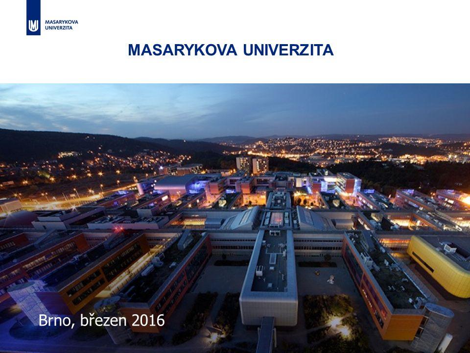 Přinášíme nové myšlenky, inspirujeme lidi kolem nás1 Brno, březen 2016 MASARYKOVA UNIVERZITA
