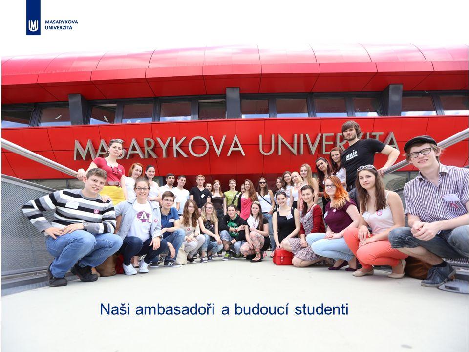 37 MASARYKOVA jUNIVERZITA Budoucí vědci skládají slib v Univerzitním kině Scala Naši ambasadoři a budoucí studenti