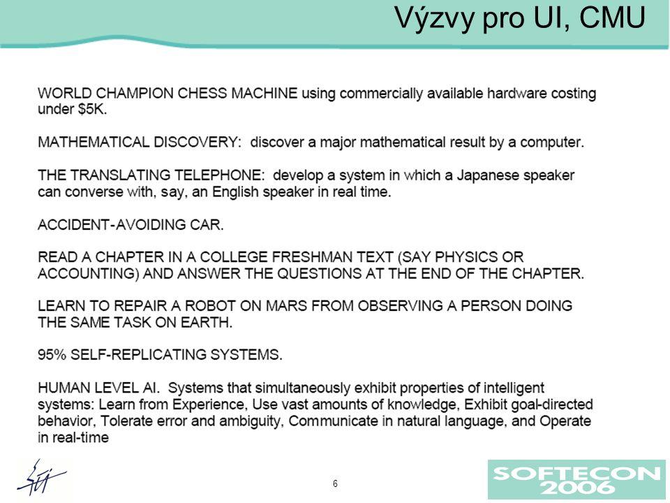 6 Výzvy pro UI, CMU