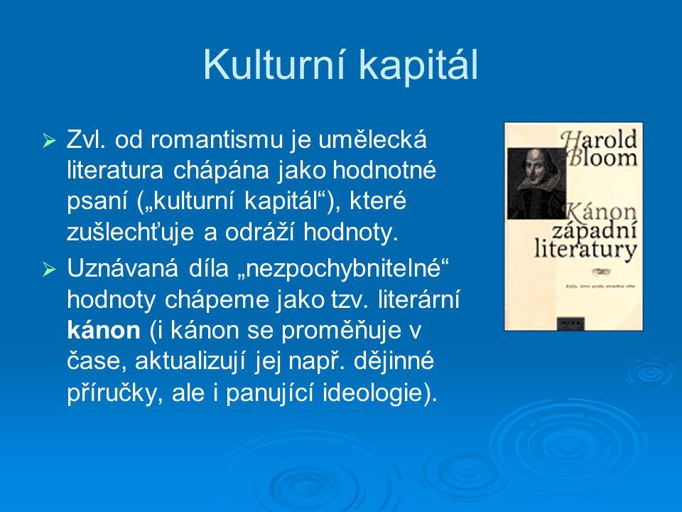 Kulturní kapitál   Zvl.