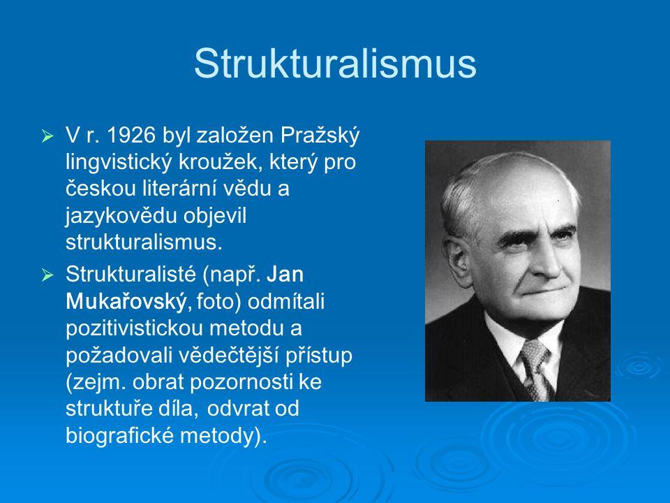 Strukturalismus   V r.