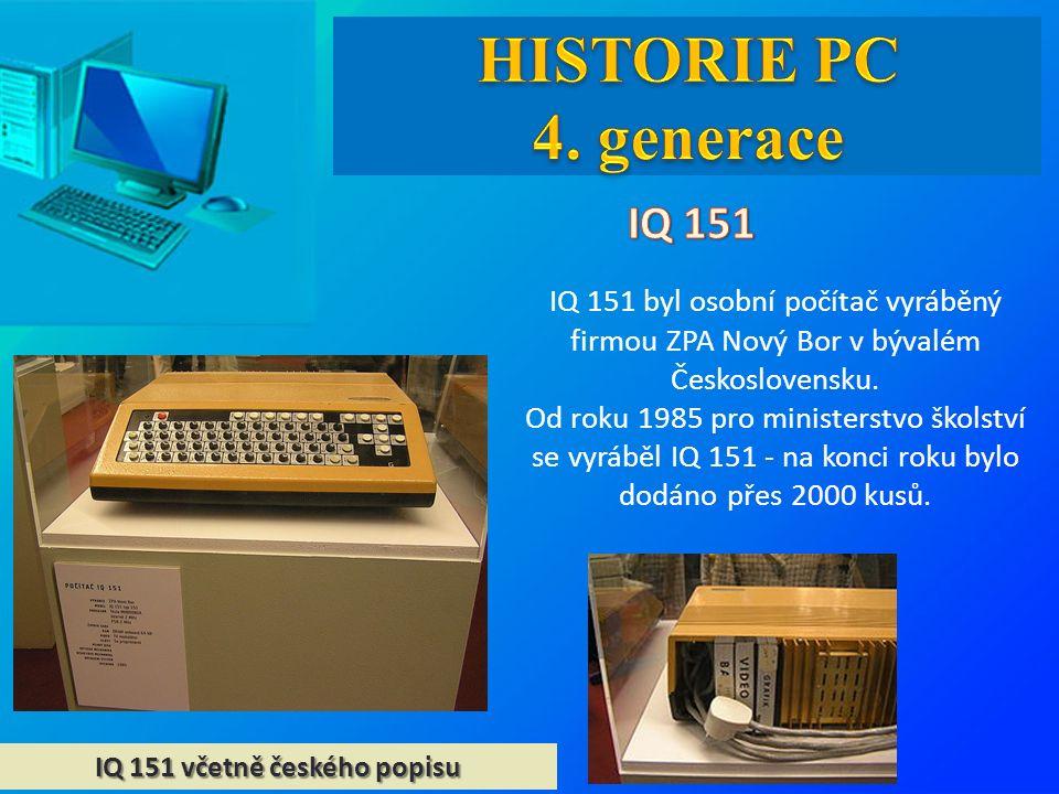 IQ 151 včetně českého popisu IQ 151 byl osobní počítač vyráběný firmou ZPA Nový Bor v bývalém Československu.