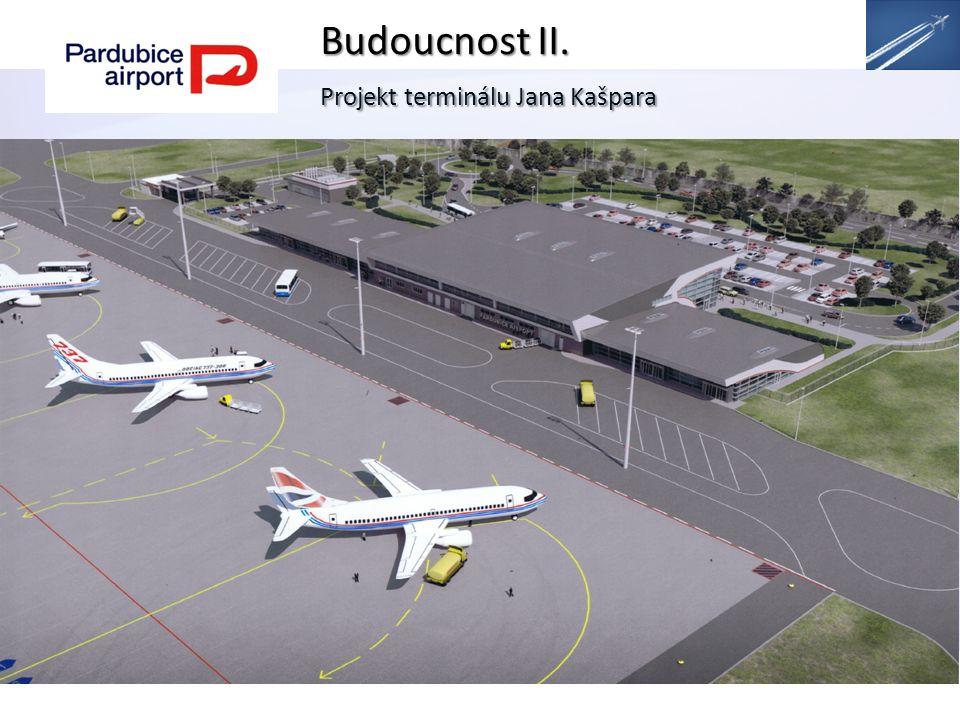 Budoucnost II. Projekt terminálu Jana Kašpara.