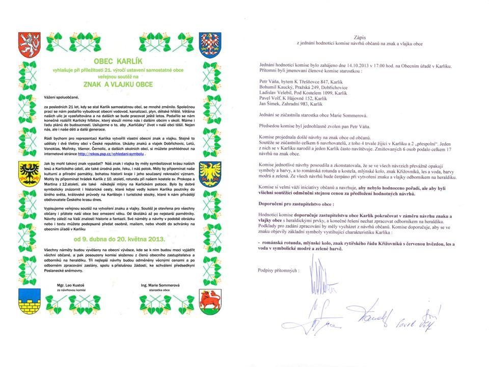 Návrh č. 16 Návrh č. 15 Autor: Oldřich Tripes, Komařice