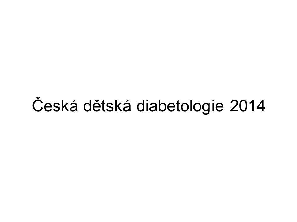 Česká dětská diabetologie 2014