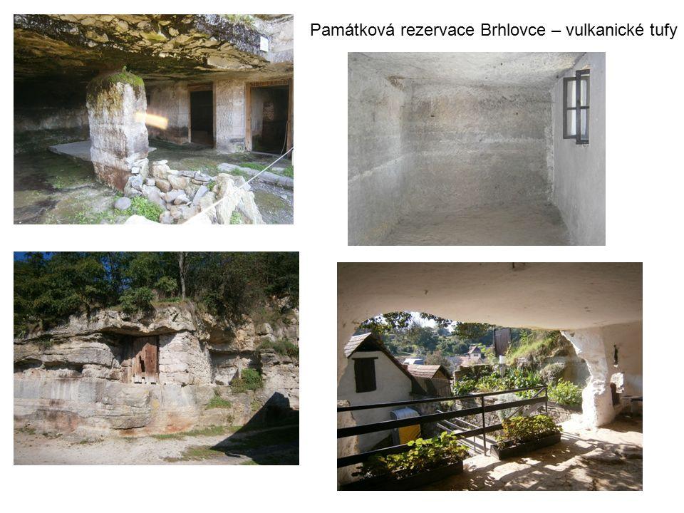 Památková rezervace Brhlovce – vulkanické tufy