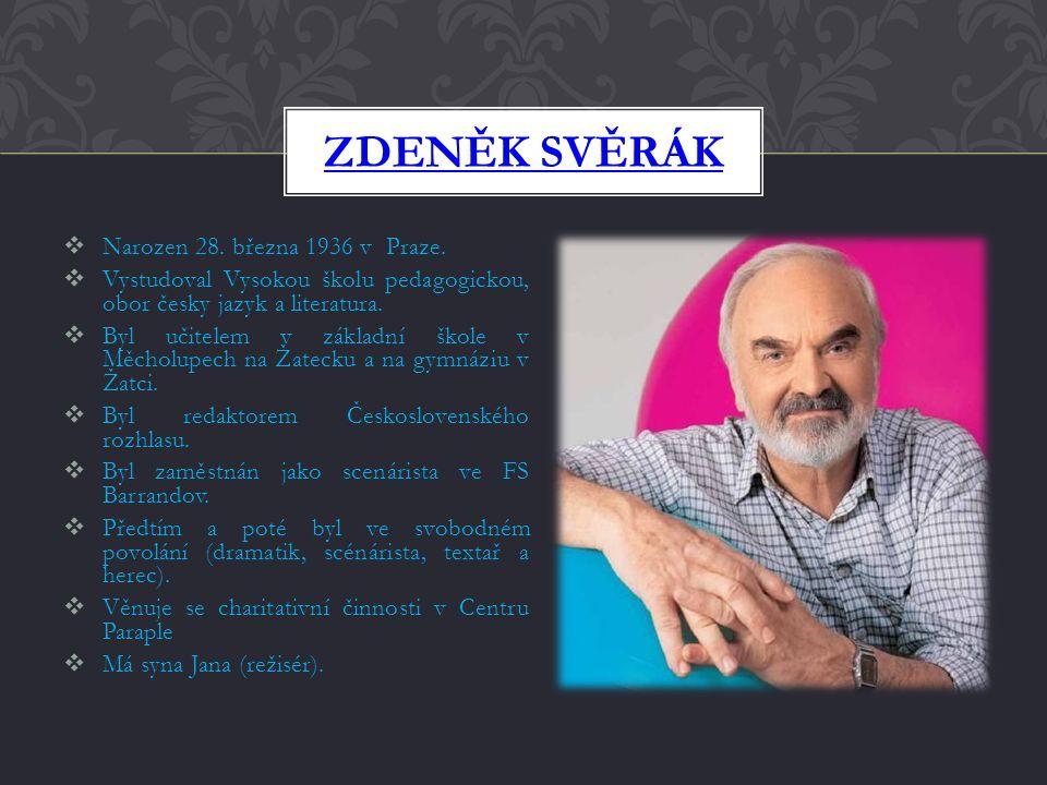 Český dramatik, scénárista, textař a herec