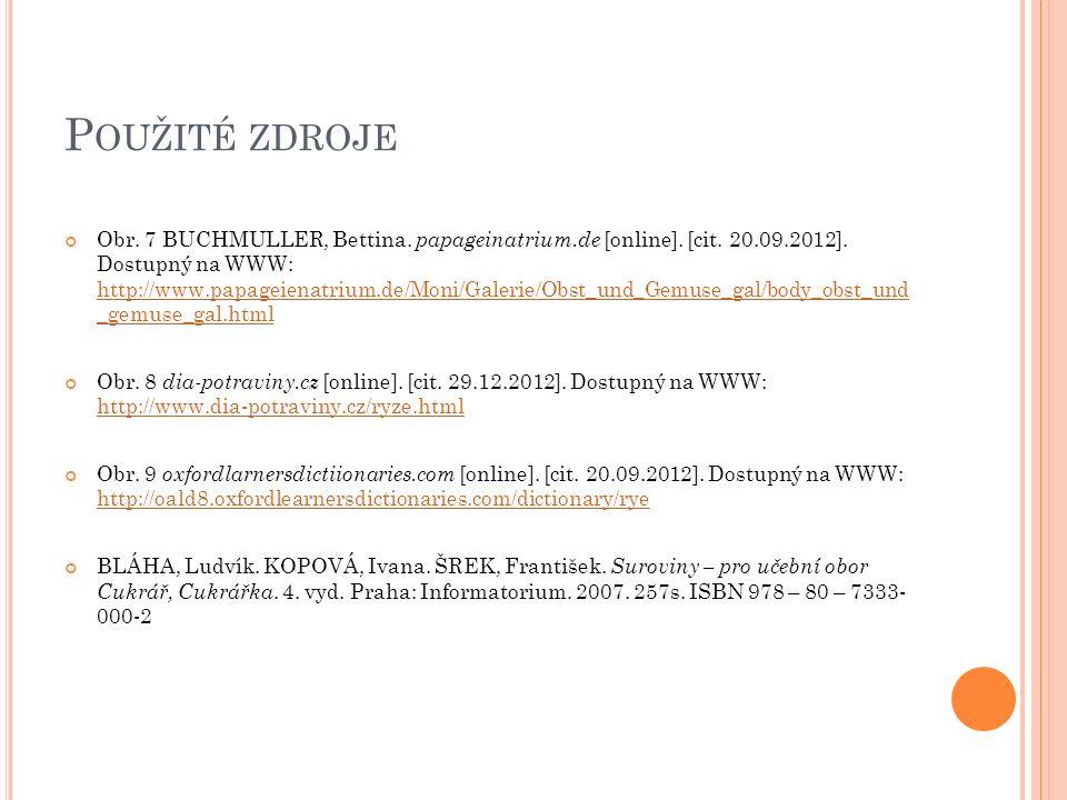 P OUŽITÉ ZDROJE Obr. 7 BUCHMULLER, Bettina. papageinatrium.de [online].