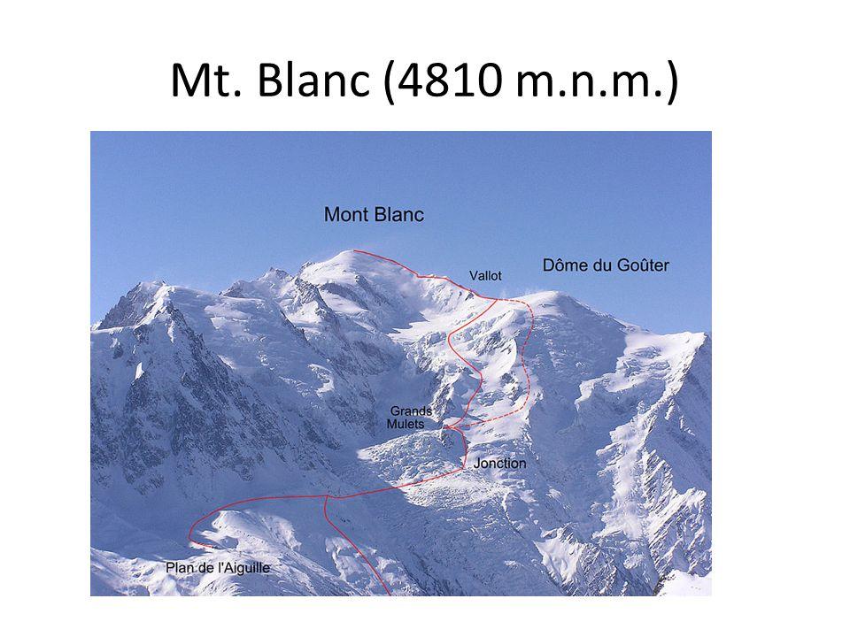 Mt. Blanc (4810 m.n.m.)