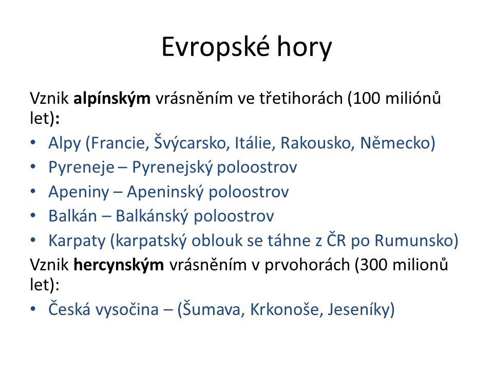 Výšková stupňovitost v ČR