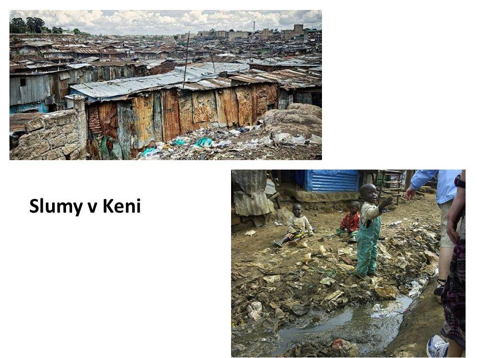 Slumy v Keni