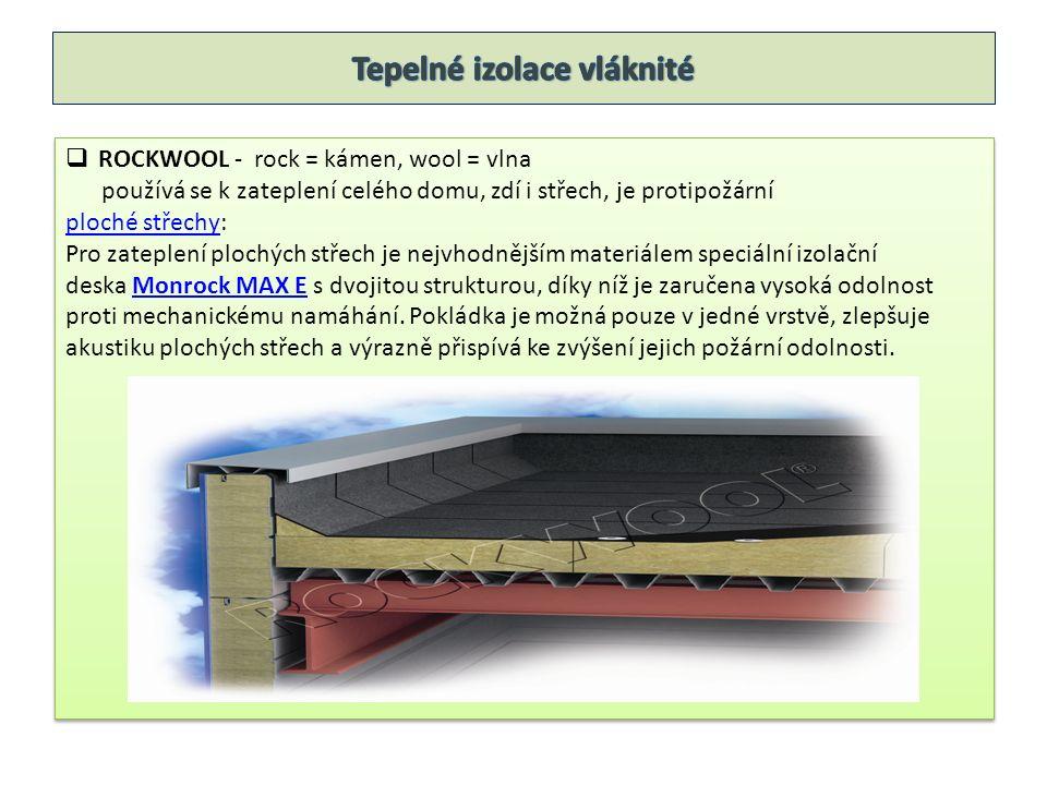  ROCKWOOL šikmé střechyšikmé střechy: Ideální volbou pro zateplení šikmých střech je izolace Airrock ND.
