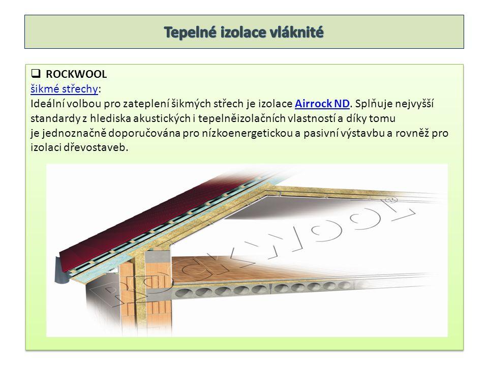  ROCKWOOL podlahypodlahy: Při výběru materiálu pro izolaci podlah je třeba rozlišit, zda se jedná o lehkou nebo těžkou plovoucí podlahu.