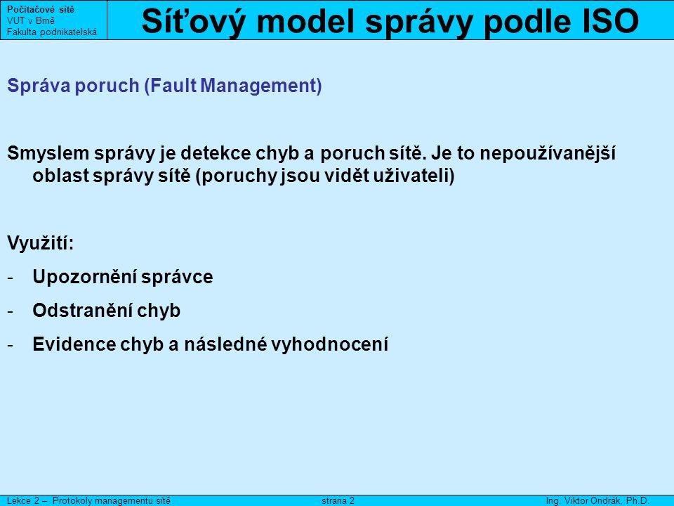 DMI Počítačové sítě VUT v Brně Fakulta podnikatelská Lekce 2 – Správa aktivních prvkůIng.